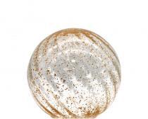厂家直销 亮片款圆球形彩色玻璃灯罩 玻璃灯罩定制